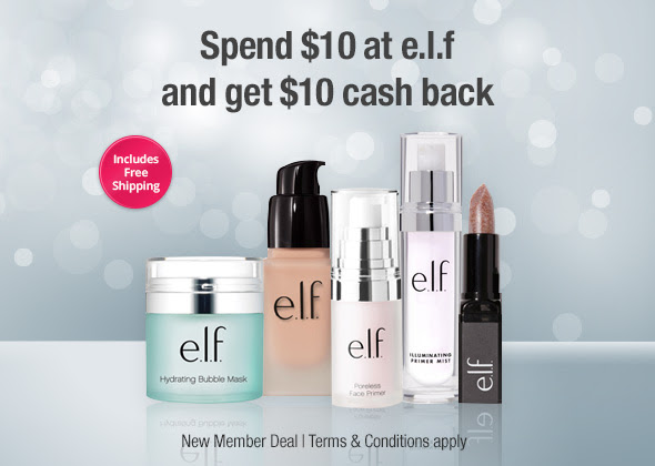 FREE $10 to Spend at e.l.f. Co...