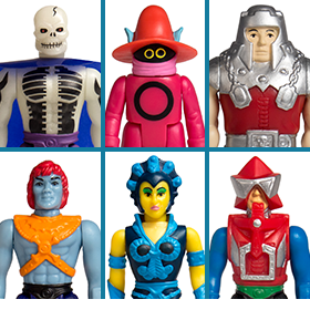 MOTU REACTION FIGURES