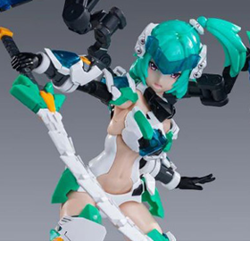 A.T.K. Girl Black Tortoise (Li Ling) Model Kit