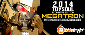 MEGATRON GOLD EDITION MECHA NATIONS