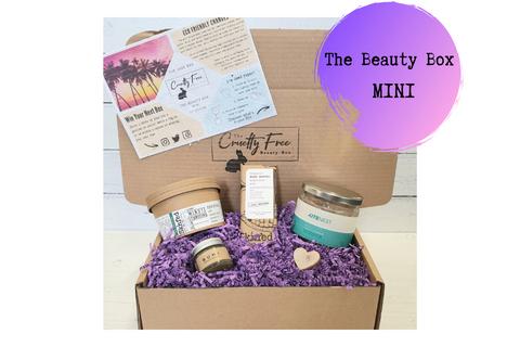Beauty Subscription Box, Cruelty Free, Vegan & Plastic Free