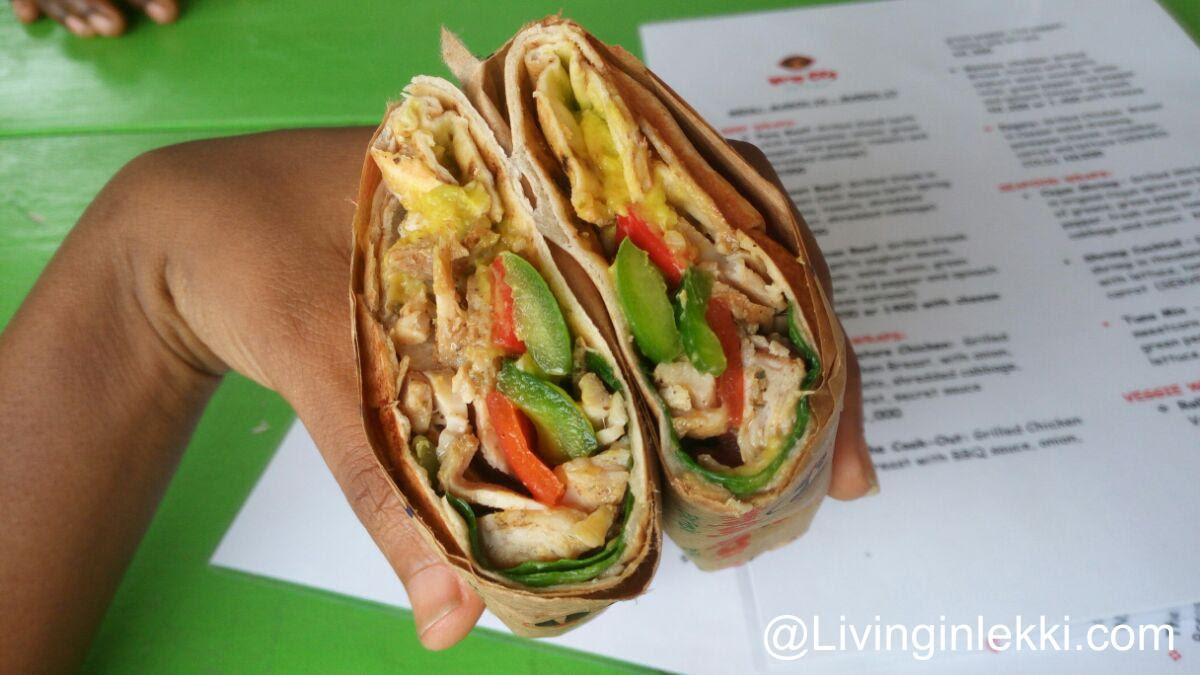 Wrap city lekki mexican chicken 2