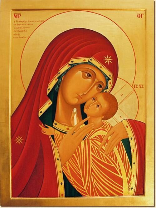 Matka Boża Różańcowa z kościoła mniszek dominikańskich w Radoniach pod Warszawą
