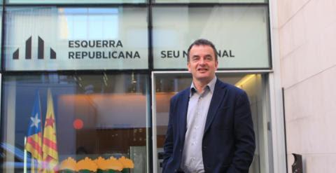 El candidato de ERC para la Alcaldía de Barcelona, Alfred Bosch.