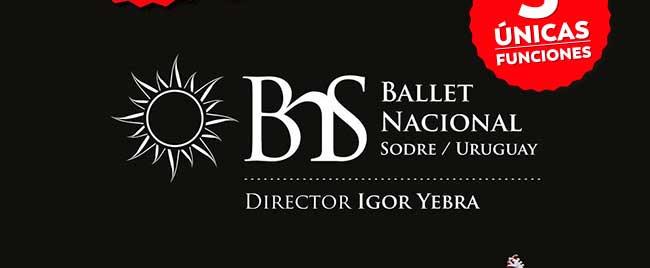 BNS. Ballet Nacional Sodre / Uruguay. Director Igor Yebra