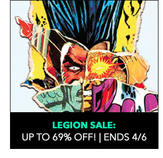 Legion Sale: up to 69% off! Sale ends 4/6.