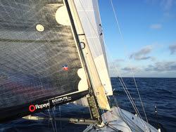 J/125 sailing Round Catalina Island race