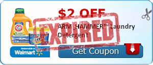$2.00 off ARM & HAMMER™ Laundry Detergent