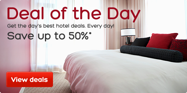 Save Up to 50% OFF The Best Hotels Deals Just For 24 Hours Only at Hotels.com