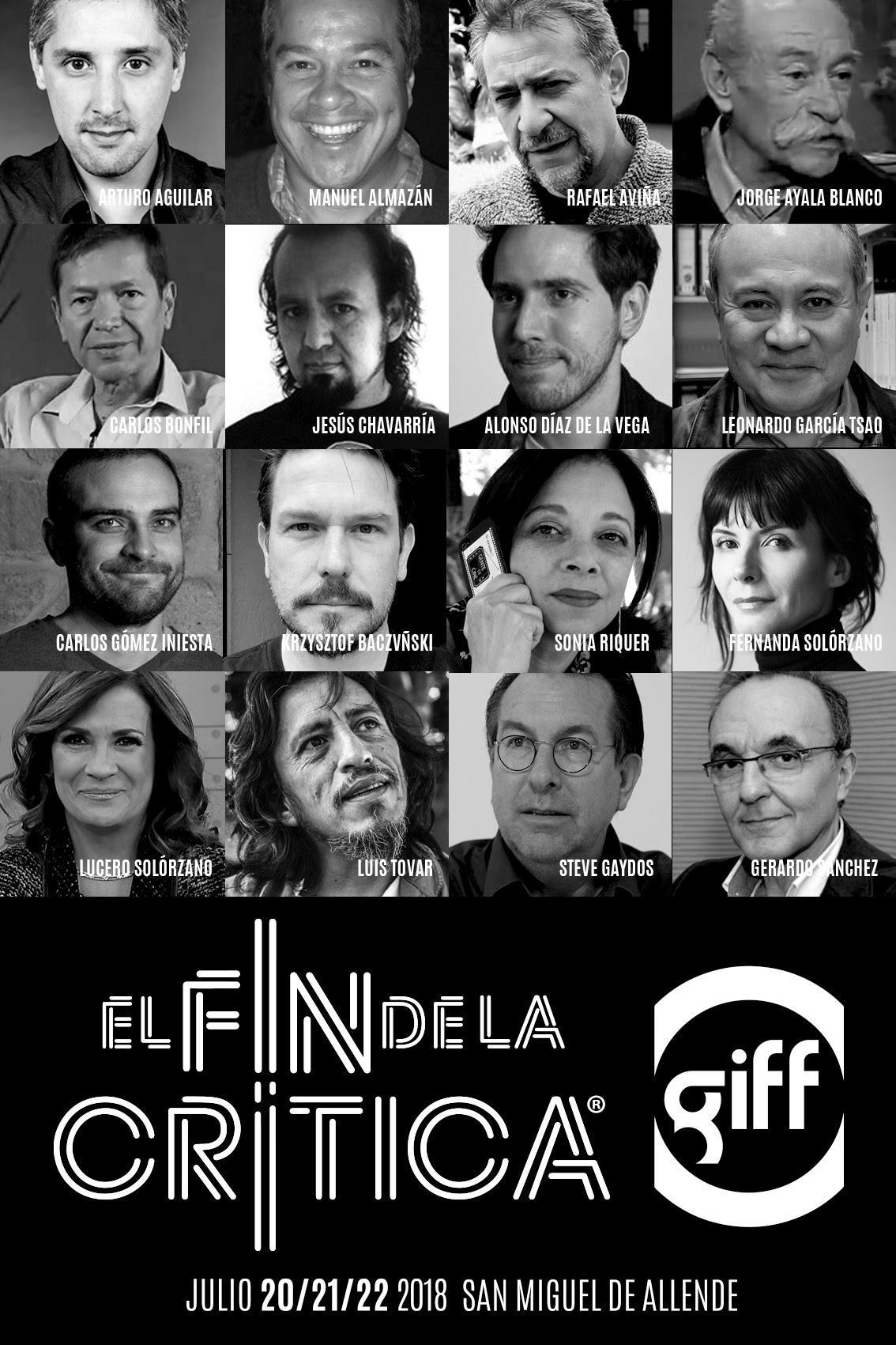 GIFF anuncia el salón, el taller y el fin de la crítica