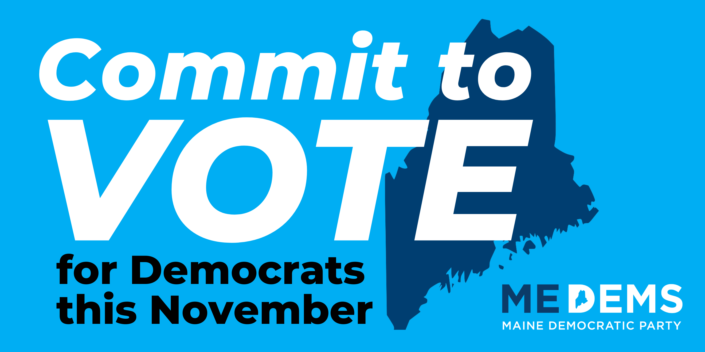 Commit to VOTE for Democrats this November