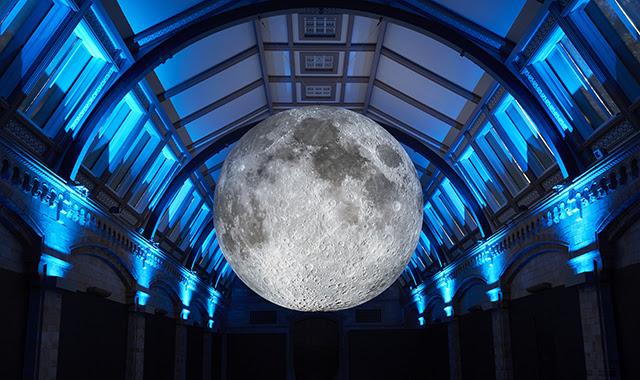 Museum of the Moon, an artwork by Luke Jerram