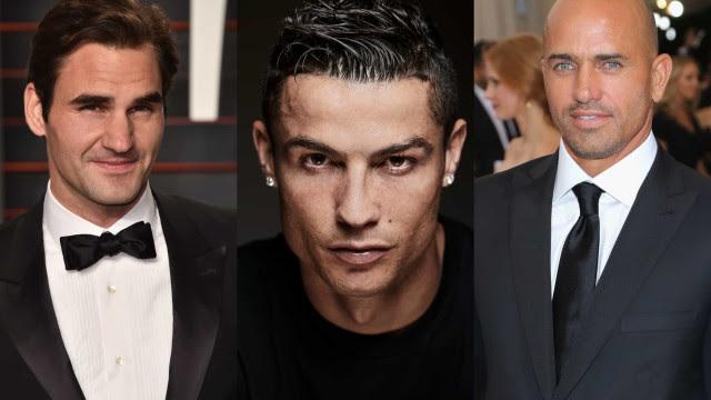 Os atletas masculinos mais atraentes do mundo