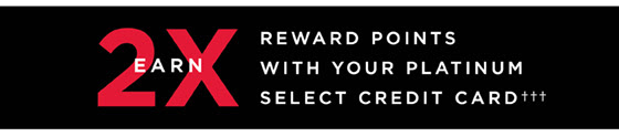 2X Credit Rewards until 5/28