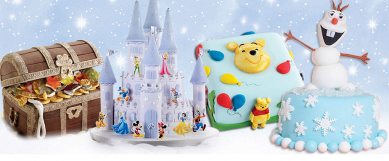 Free Premiere Issue PLUS Free Gifts - Disney Cakes & Sweets