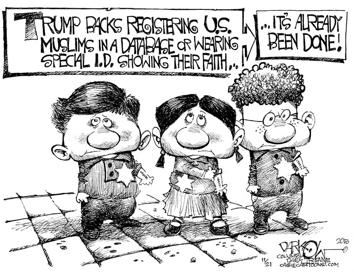 registering muslims
