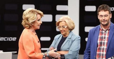 Aguirre Carmena EFE