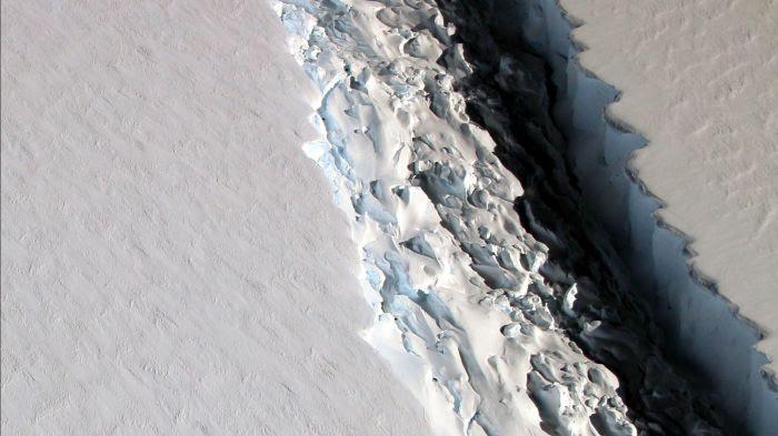 Un iceberg géant se détache de l'Antarctique