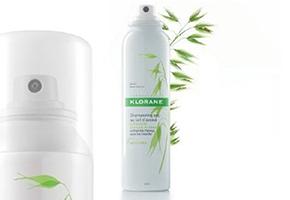 Vencedor: Klorane Champo seco em spray extra suave aveia