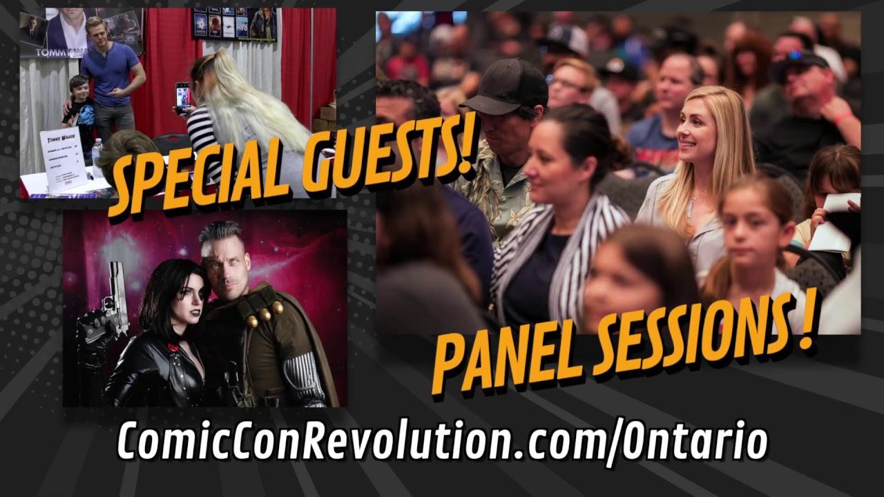 Comic Con Revolution Ontario Californa | May 18th and 19th 2019