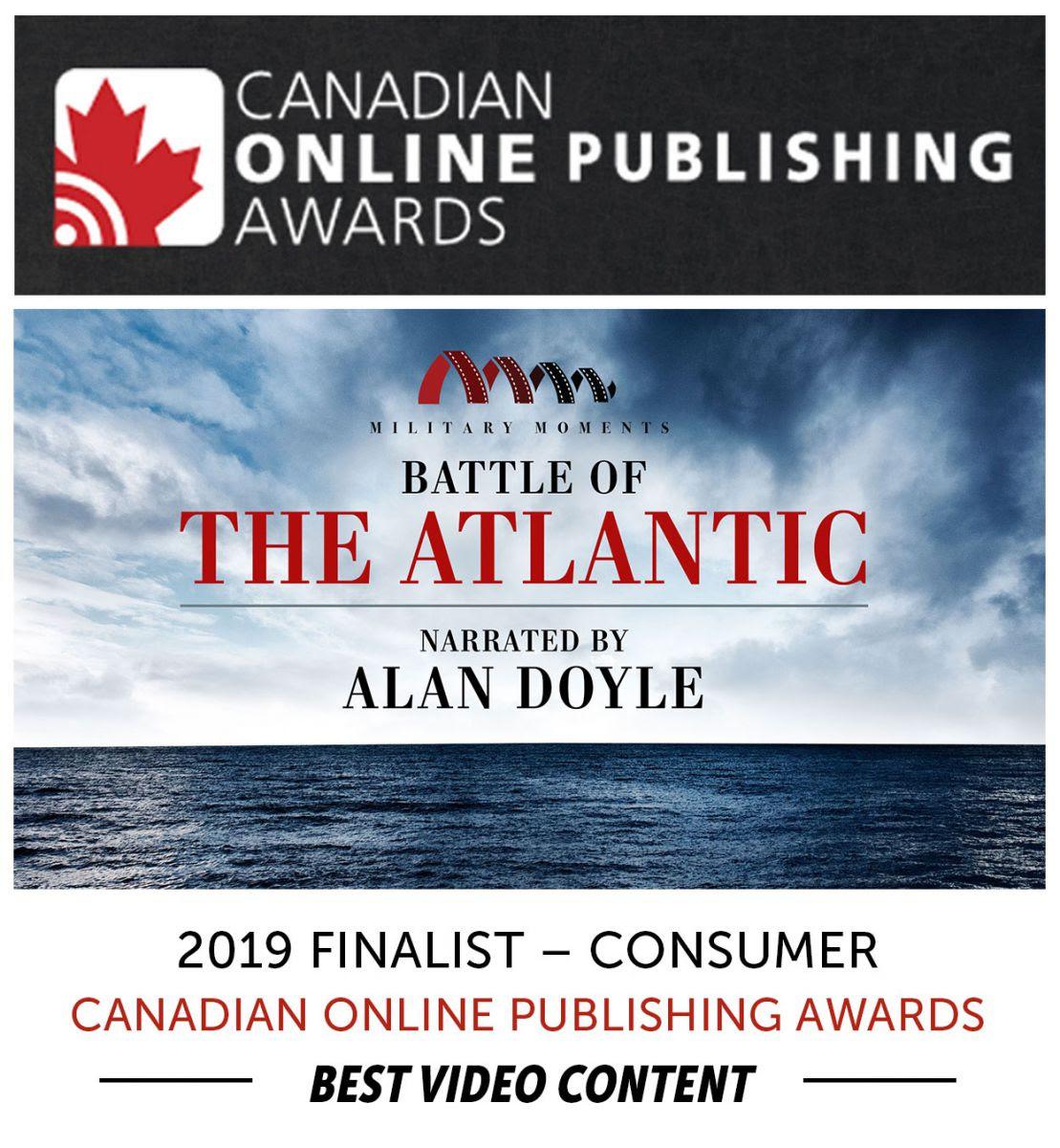 Alan Doyle Narrates Military Moments | Battle of the Atlantic