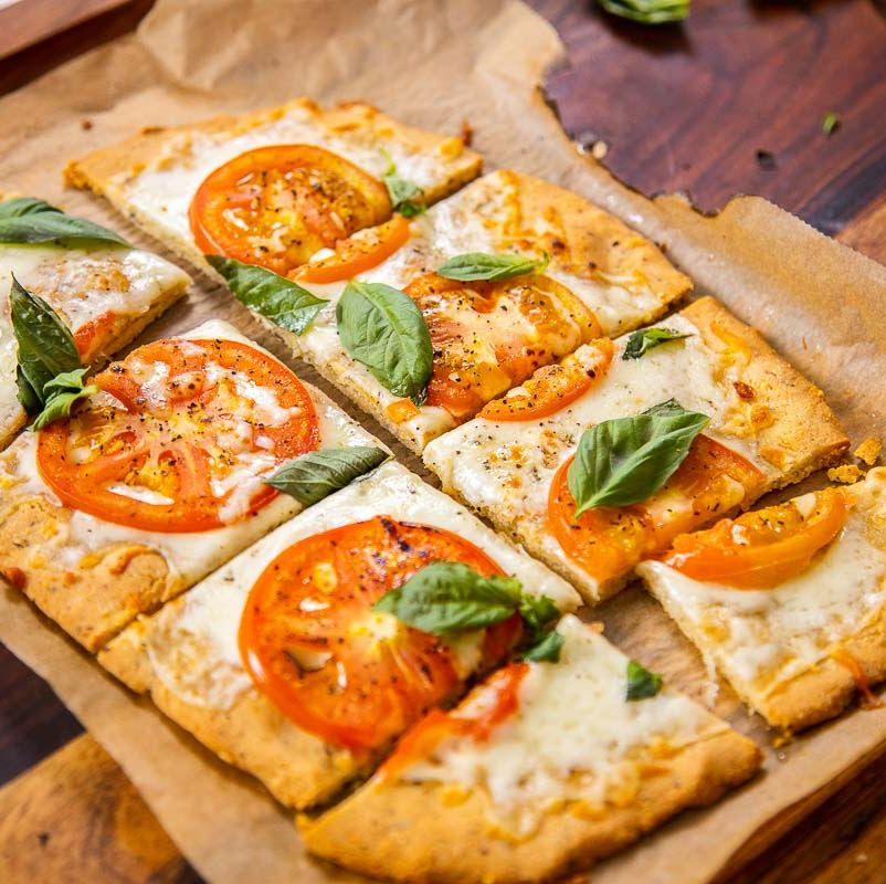 This Almond Crust Pizza Will Curb Your Carb Cravings