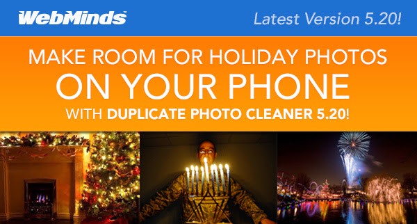 Duplicate Photo Cleaner - Make Room For Your Holiday Photos