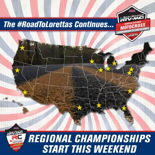The Road to Loretta's Continues with Regional Championships!