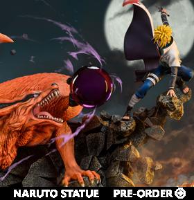 Naruto: Shippuden Battle of Destiny: Namikaze Minato vs. Kurama Limited Edition Ultimate Diorama Statue