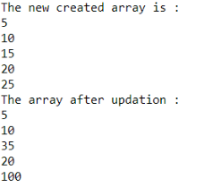 updation-python-arrays