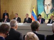 Jorge Arreazaexpuso el asedio de Gobiernos como el de Colombia y Estados Unidos que perjudican al pueblo venezolano.