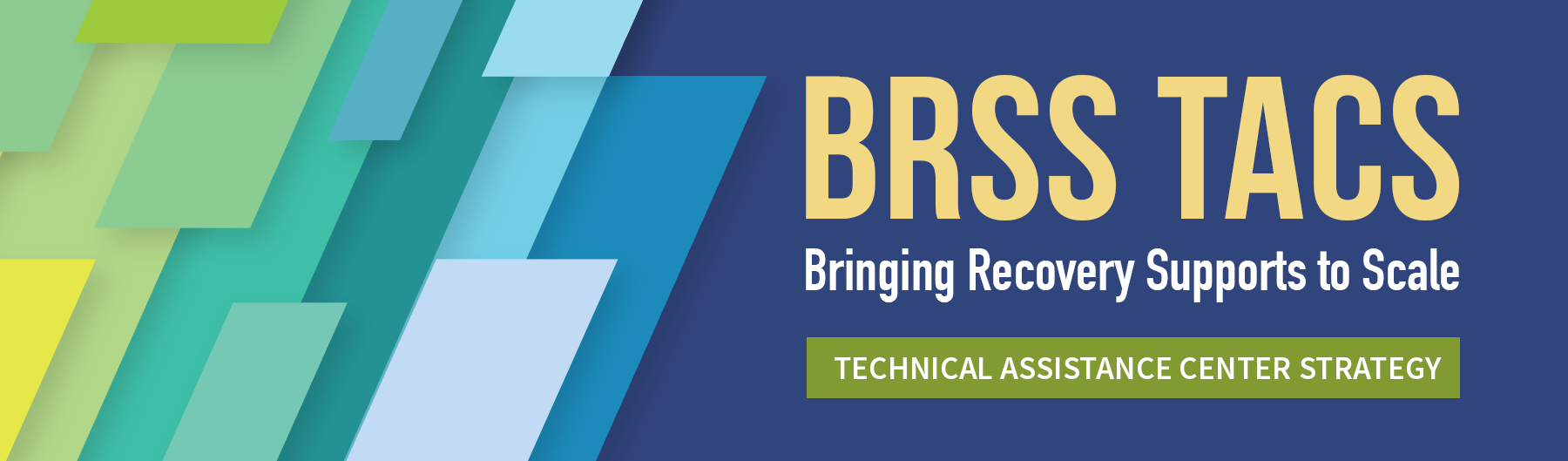SAMHSA's Bringing Recovery Supports to Scale Technical Assistance Center Strategy (BRSS TACS)