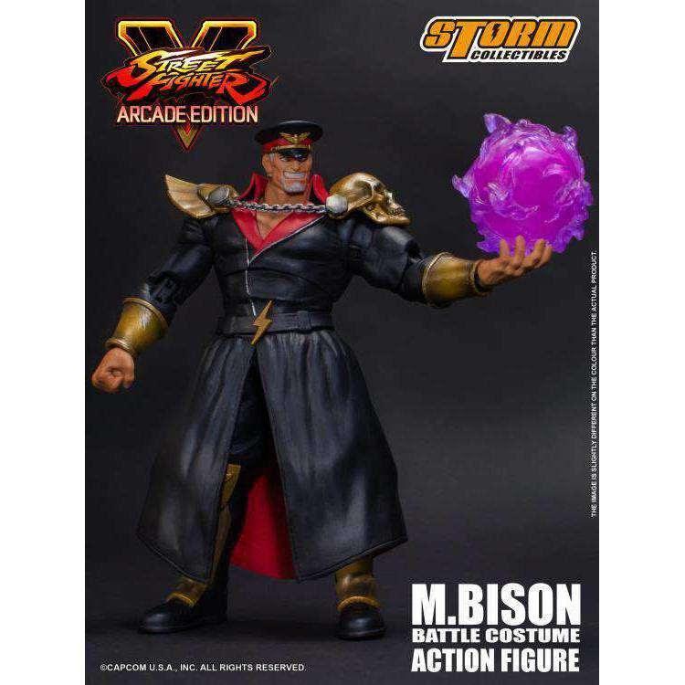 Image of Street Fighter V M. Bison (Arcade Edition) 1/12 Scale Figure