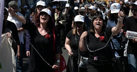 Grecia. Foto: LOUISA GOULIAMAKI/AFP.