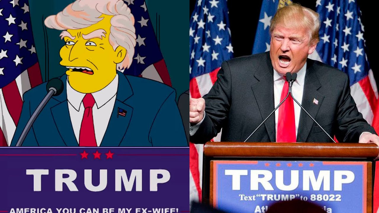 10 TV Shows That Predicted The Future! Simpsons Predicted Trump as President!