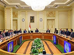 Egyptian Prime Minister Mustafa Madbouli chairs the 11 February meeting of the licensing committee [Picture: en.wataninet.com]