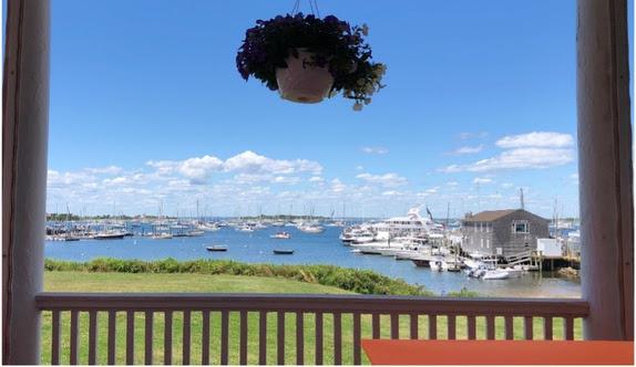 View from Narragansett Inn at Block Island