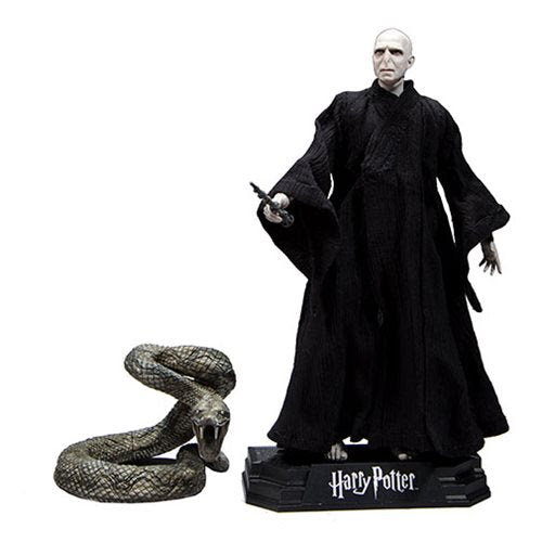 "Image of Harry Potter 7"" Action Figure Series 1 (Deathly Hallows) - Lord Voldemort"
