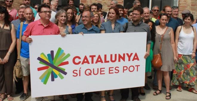 'Catalunya, Sí que es Pot' se erige como alternativa a la lista de Mas.