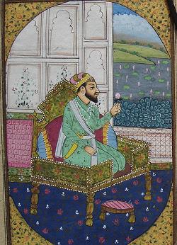miniaturemoghleShah Jahanr