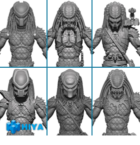 PREDATOR 2 1:18 SCALE FIGURES