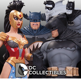 NEW BATMAN STATUES