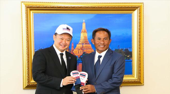 TAT Governor welcomes Thailands Number One Golf Ambassador Thongchai Jaidee