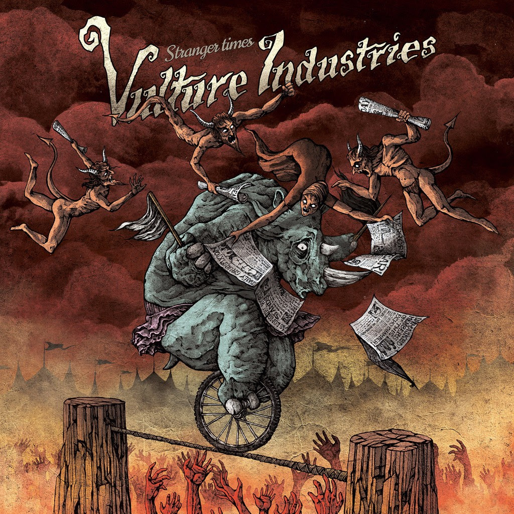 VULTURE INDUSTRIES album cover Stranger Times