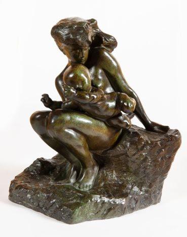 Auguste RODIN (1840-1917), L'amour qui passe, circa 1896-1901 - bronze à patine verte 38,2x22,5x32,7cm, poids 14,918kg, signé A.Rodin - BAILLY GALLERY.jpeg