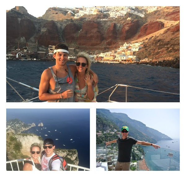 couple on an incredible island hopping through europe