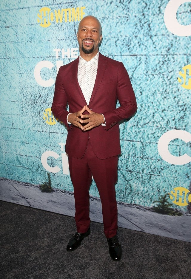 Common at The Chi Premiere