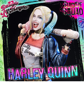 HARLEY QUINN MUSEUM MASTER LINE STATUE