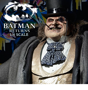 Batman Returns 1/4 Scale Figure - Mayoral Penguin