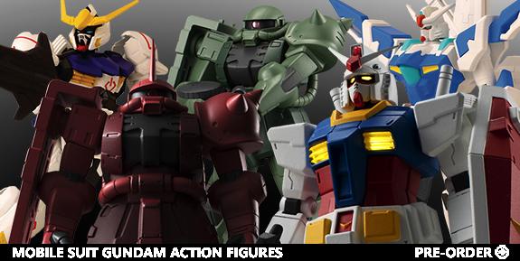 Bandai America Gundam Figures